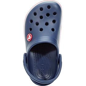 Crocs Crocband Clogs Kids Navy/Red